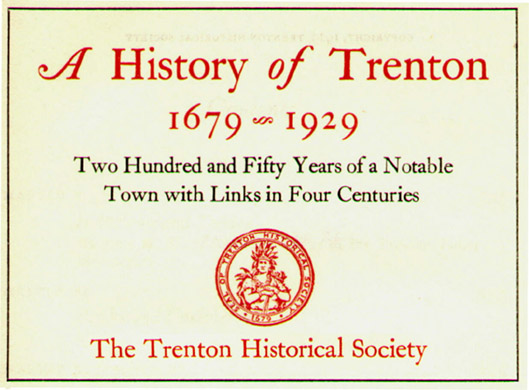 Trenton Historical Society New Jersey